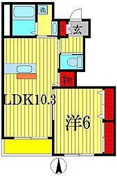 akala hale[1階]の間取り