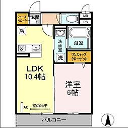 仮)D-room殿町[3階]の間取り