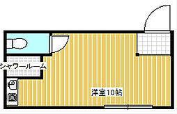 CHEERFUL HOUSE 3年10組[3階]の間取り