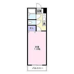 ウィンビュ湘南[2階]の間取り