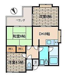 エスポワール王禅寺2[3階]の間取り