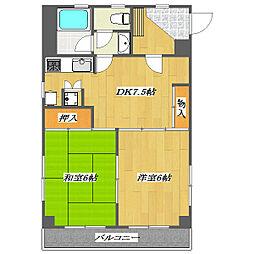 Sixth Maison de Yoshino 〜第6メゾン[6階]の間取り