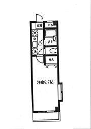 マーメイド21ビル[3階]の間取り