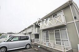 岡山県岡山市南区洲崎2丁目の賃貸アパートの外観