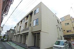 大阪府大阪市生野区鶴橋3丁目の賃貸アパートの外観