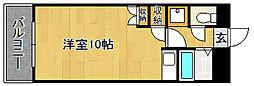 Kステーション八田(初期費用オトクプラン)[103号室]の間取り