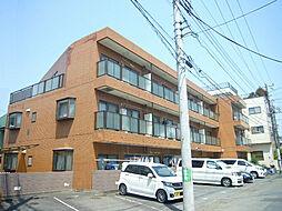 青山マンション[1階]の外観