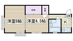 サイトウビル[3F号室]の間取り