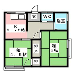 螢田駅 3.0万円