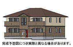 山口県下関市三河町の賃貸アパートの外観