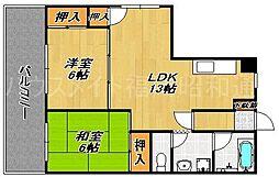 高木ビル[3階]の間取り