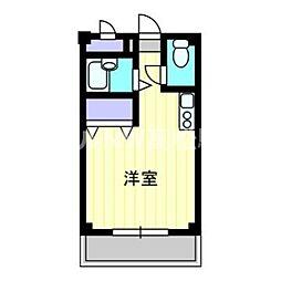 香川県さぬき市志度の賃貸アパートの間取り