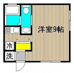 6[2階]の間取り