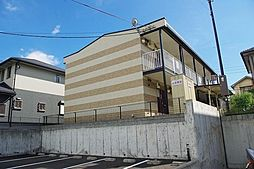 京都府木津川市梅美台4の賃貸アパートの外観