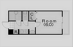 ステラハウス4-400[407号室]の間取り