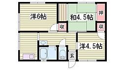 御着駅 4.0万円