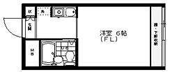 ベルトピア志木II[1階]の間取り