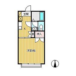プレステージ21[2階]の間取り