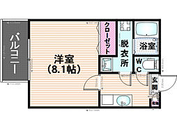 サントピア須玖[103号室]の間取り