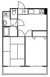第3ゴージャスライフマンション[2階]の間取り