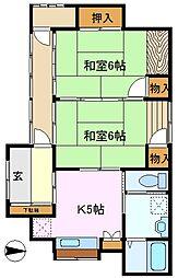 [一戸建] 神奈川県横浜市保土ケ谷区上菅田町 の賃貸【/】の間取り
