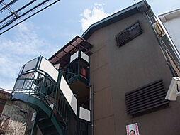 東京都新宿区中落合4丁目の賃貸アパートの外観