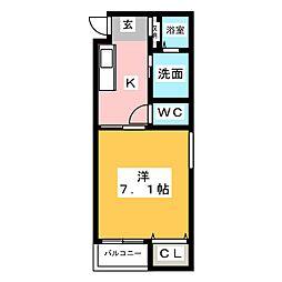 Villa Urbana Sakuradai[3階]の間取り