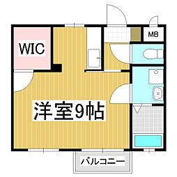 汽車道II[2階]の間取り