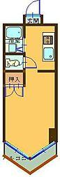 K2西小倉ビル[903号室]の間取り