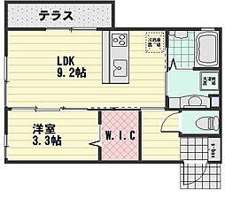 (仮)D-room大町西3丁目[103号室]の間取り