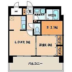 ロイヤルステージ吉塚[5階]の間取り