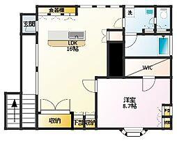 田本アパート[301号室]の間取り