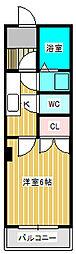 ガーデンムーン[3階]の間取り