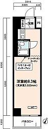 藤和日本橋人形町コープ[1002号室]の間取り