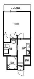 長崎県長崎市滑石1丁目の賃貸マンションの間取り