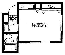 ヴィウラ永田[2階]の間取り