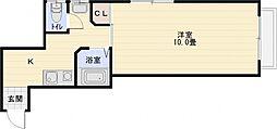 ホープハウス[3階]の間取り