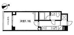 神奈川県横浜市西区南軽井沢の賃貸マンションの間取り