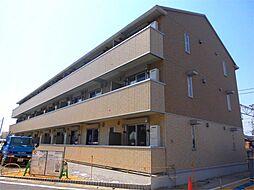 滋賀県近江八幡市安養寺町の賃貸アパートの外観
