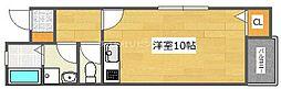 大阪府高槻市富田町1丁目の賃貸アパートの間取り