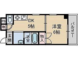 メゾンダイコー舟木[4階]の間取り