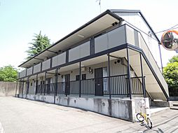 京都府京都市山科区竹鼻木ノ本町の賃貸アパートの外観