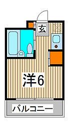 スカイコート西川口第5[7階]の間取り