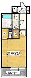 エステート・モア・博多公園通り[11階]の間取り