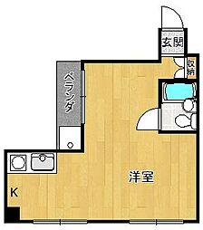 ベルトピア武庫之荘3[B403号室]の間取り