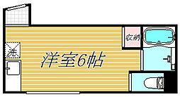 Antaeus mini板橋本町[2階]の間取り