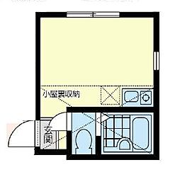 ユナイト戸部メルボルンの杜[2階]の間取り