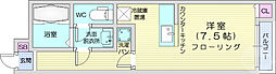 仙台市地下鉄東西線 川内駅 徒歩10分の賃貸アパート 2階ワンルームの間取り