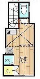 大森アパートメント[2階]の間取り