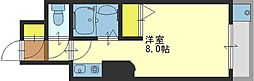 CTビュー小阪[405号室]の間取り